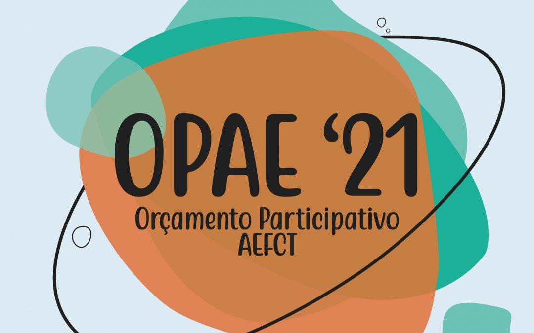 Orçamento Participativo AEFCT 2021